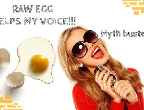 Ωμό αυγό για τη φωνή! Tip ή μύθος;