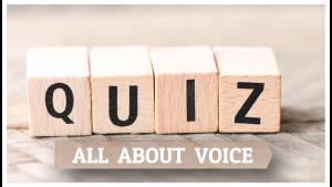 quiz voice health