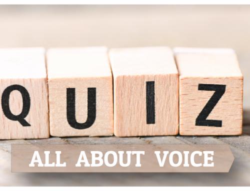 Ένα quiz για την υγεία της φωνής